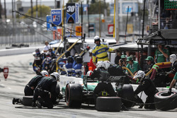 Kyle Kaiser, Juncos Racing Chevrolet, pitstop