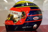 Casco especial para el GP de Mónaco de Charles Leclerc, Sauber