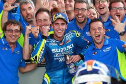 Le troisième, Alex Rins, Team Suzuki MotoGP
