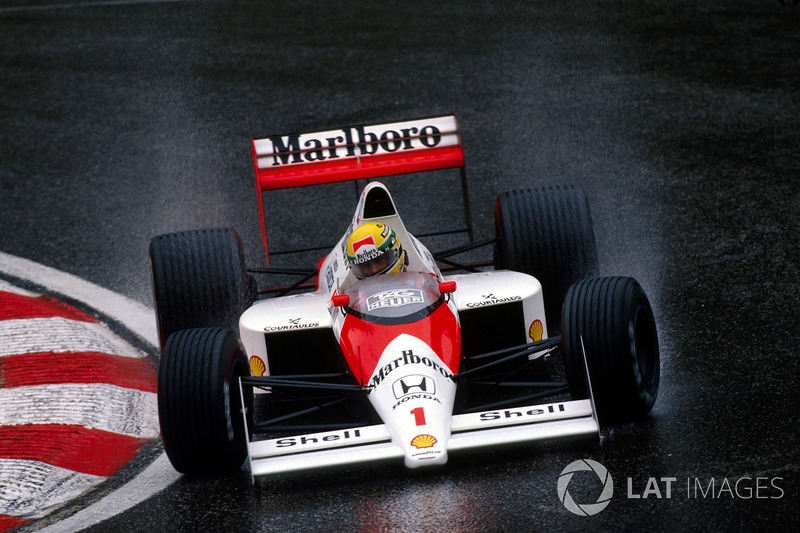 1989: McLaren MP4/5 Honda (десять побед, титул в КК)