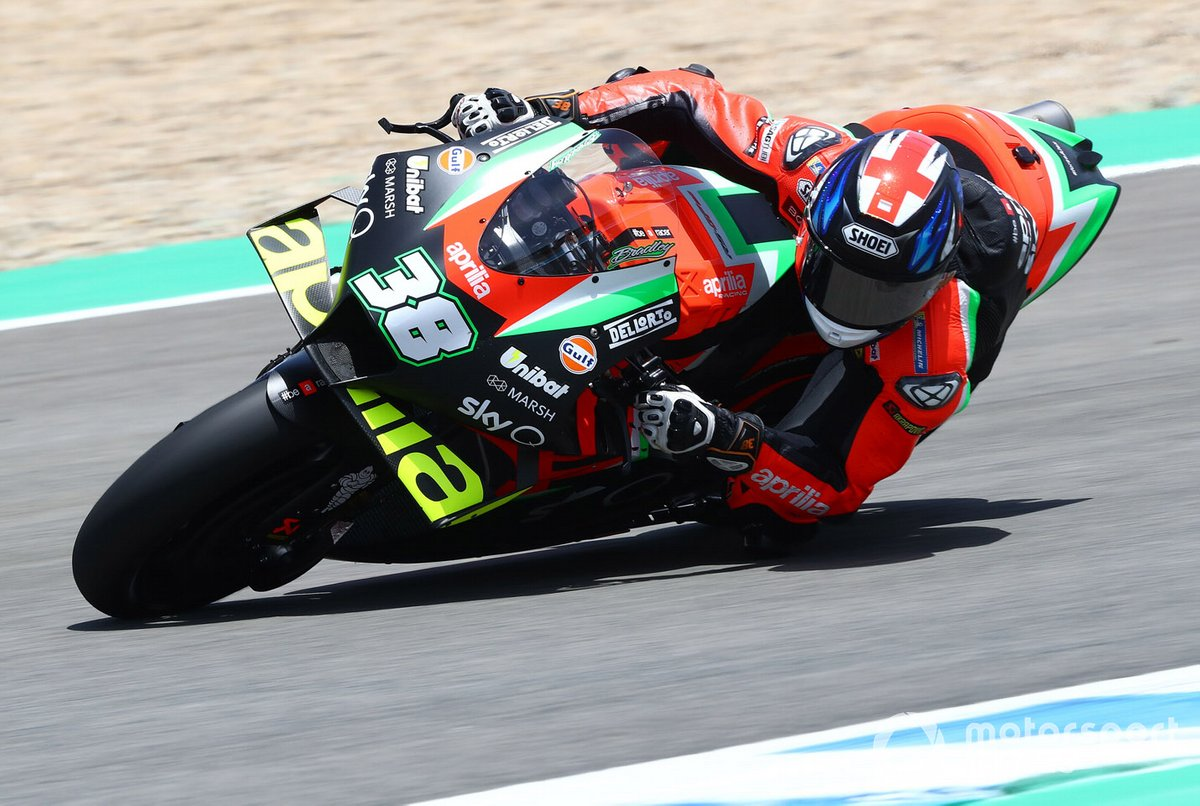 P18 Bradley Smith, Aprilia Racing Team Gresini