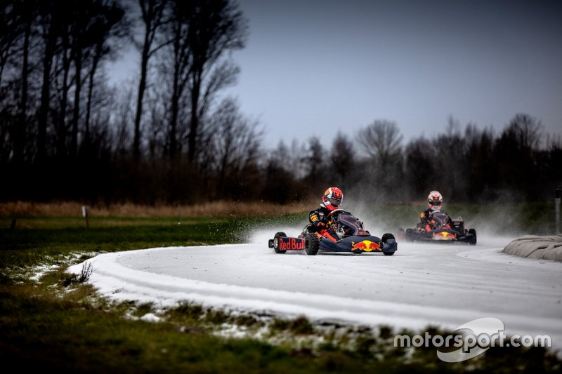 Pierre Gasly e Max Verstappen