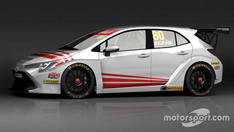 Annuncio Team Toyota GB
