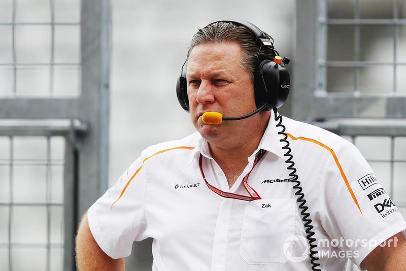 Zak Brown, Executive Director, McLaren Racing