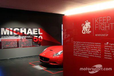 Michael 50 Ferrari museum opening
