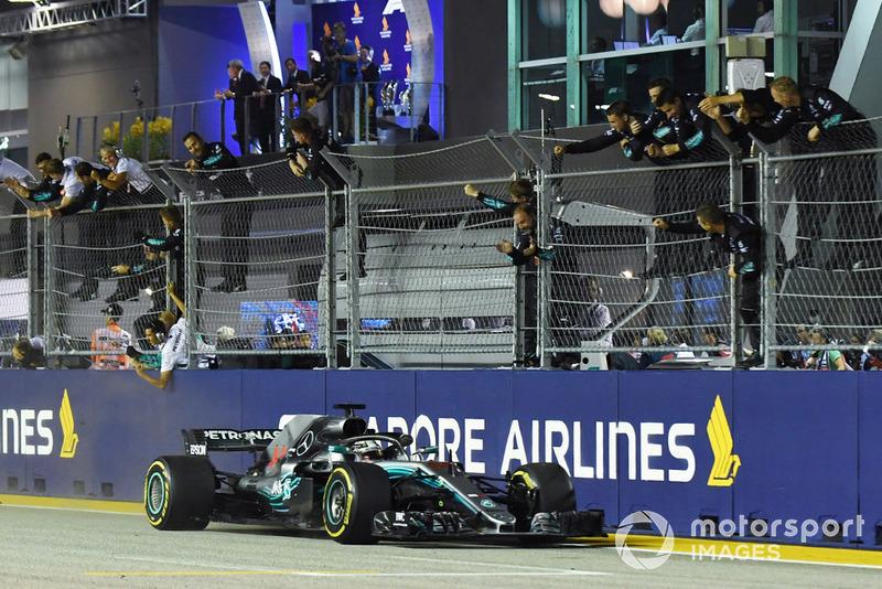 2018: Lewis Hamilton, Mercedes-AMG F1 W09