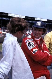 Niki Lauda, Ferrari con la moglie Marlene Knaus