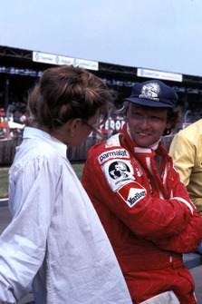 Niki Lauda, Ferrari con su esposa Marlene Knaus