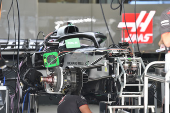 Автомобиль Haas F1 Team VF-18