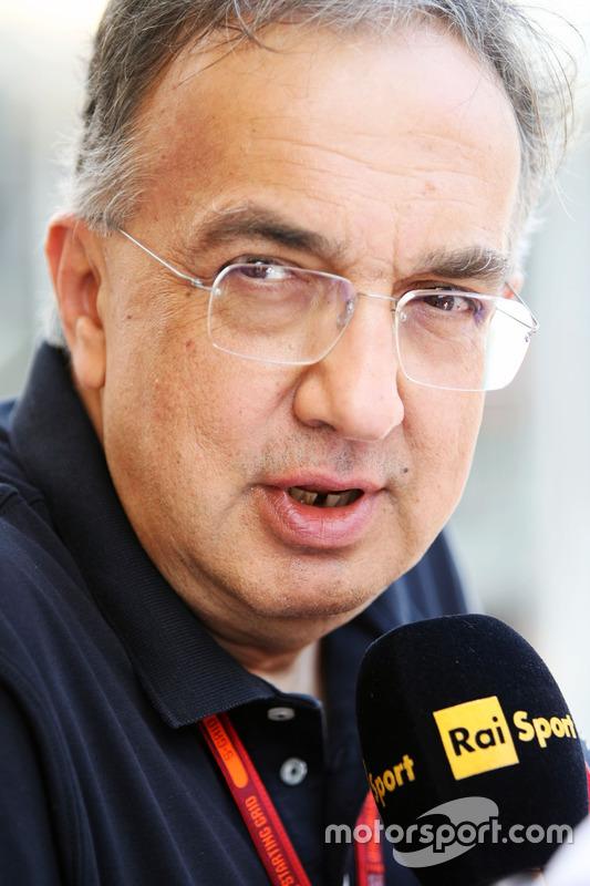 Sergio Marchionne, Ferrari Presidenye y CEO de Fiat Chrysler Automobiles