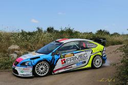Marco Signor e Patrick Bernardi, Ford Focus WRC,  Casarano Rally Team