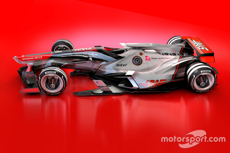 Haas F1 Team 2030 fantezi tasarım