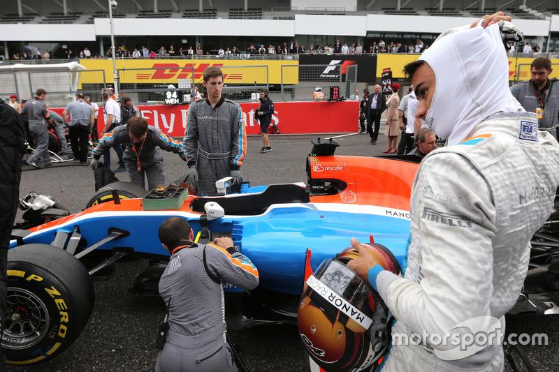 Pascal Wehrlein,, Manor Racing