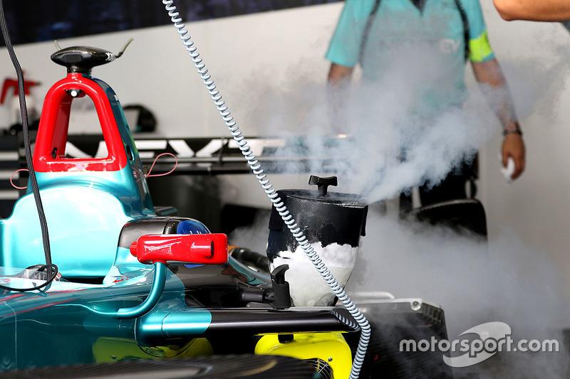 The car of Oliver Turvey, NEXTEV TCR Formula E Team