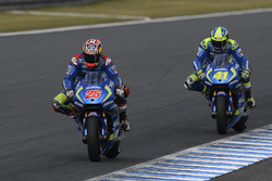 Maverick Viñales, Team Suzuki Ecstar MotoGP, Aleix Espargaro, Team Suzuki Ecstar MotoGP