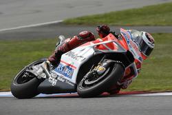 Jorge Lorenzo, Ducati Team, mit neuer Verkleidung