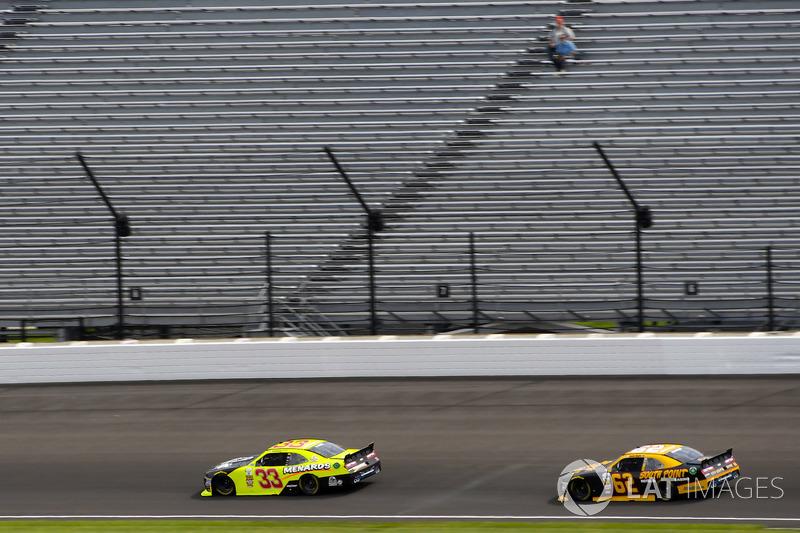 Brandon Jones, Richard Childress Racing Chevrolet y Brendan Gaughan, Richard Childress Racing Chevro
