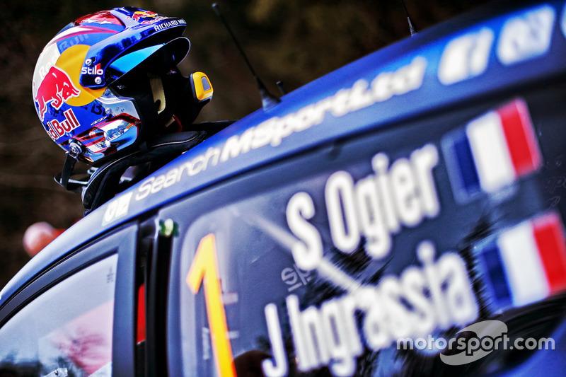 Casco de Sébastien Ogier, M-Sport
