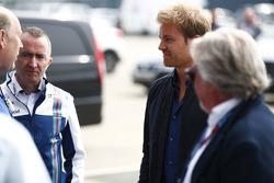 Paddy Lowe, Williams Formula 1 with Nico Rosberg and Keke Rosberg