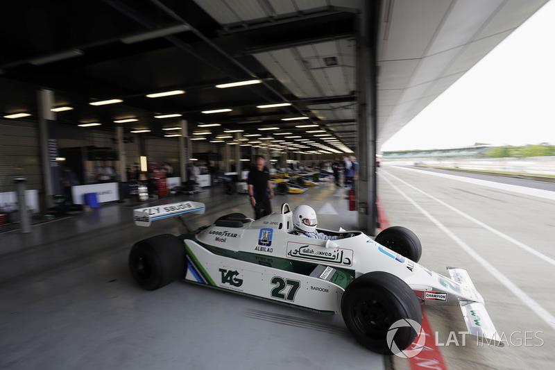 Демонстрація Williams FW07
