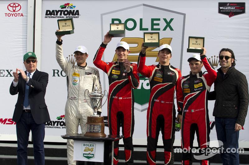 Ganadores PC, #38 Performance Tech Motorsports ORECA FLM09: James French, Kyle Mason, Patricio O'Ward, Nicholas Boulle
