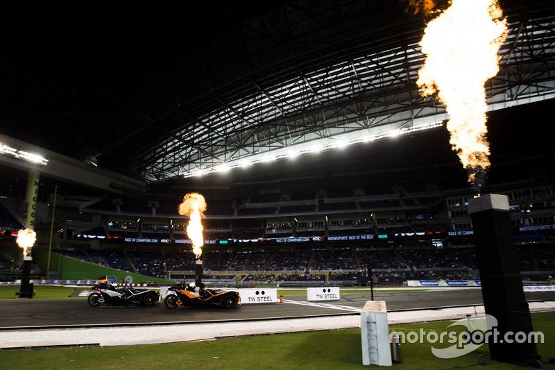 Felipe Massa, supera a Pascal Wehrlein, ten la línea