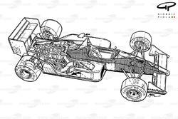 McLaren MP4-4 1988, panoramica