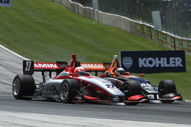 Nico Jamin, Andretti Autosport, Ryan Norman, Andretti Autosport