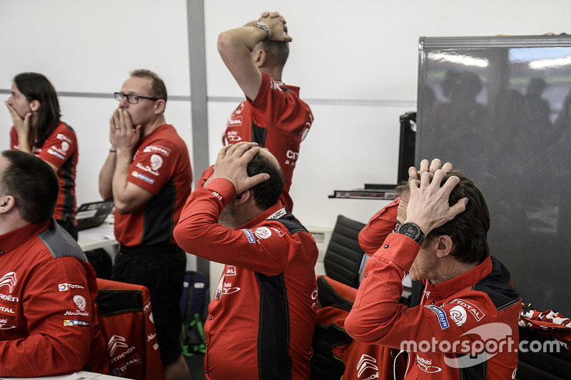Команда Citroën WRT: реакция на вылет Криса Мика