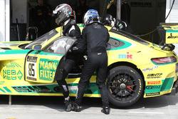 #85 HTP Motorsport Mercedes AMG GT3: Edward Sandström, Fabian Schiller