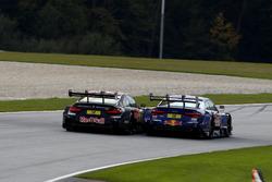 Marco Wittmann, BMW Team RMG, BMW M4 DTM, Mattias Ekström, Audi Sport Team Abt Sportsline, Audi A5 DTM