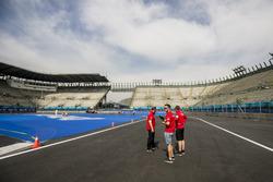 Daniel Abt, ABT Schaeffler Audi Sport lors du track walk