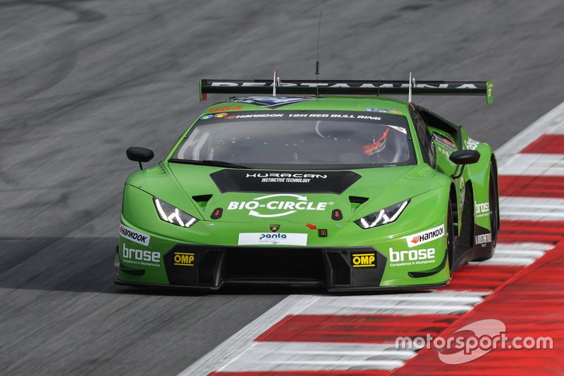 #964 GRT Grasser Racing Team Lamborghini Huracan GT3: Rolf Ineichen, Christian Engelhart, Mark Ineichen