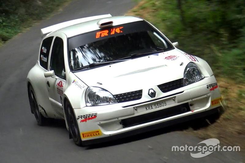 Роберт Кубіца, Мацей Жчепаніак, Renault Clio S1600