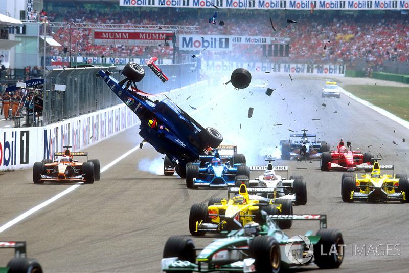 Лучано Бурті у Формулі 1 2001 року