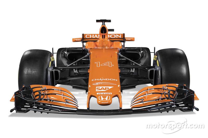 Формула 1 Презентація McLaren MCL32