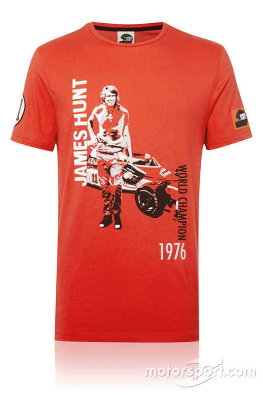 James Hunt shirt