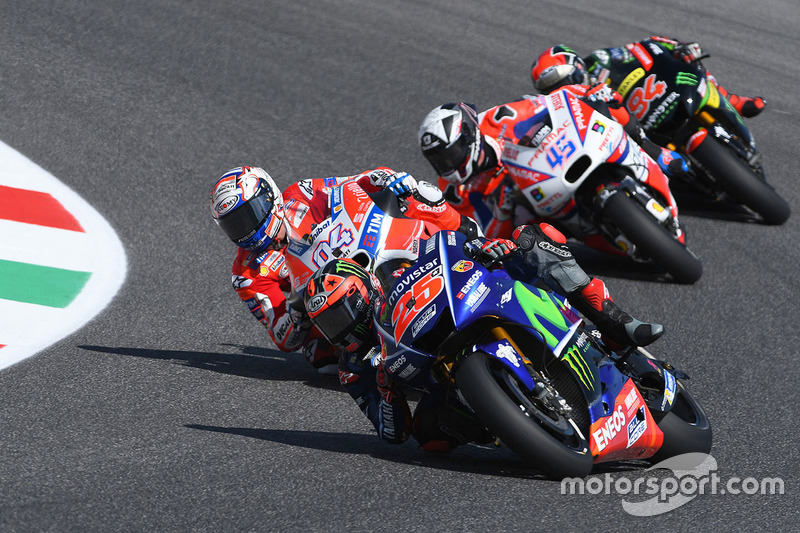 Maverick Viñales, Yamaha Factory Racing, Andrea Dovizioso, Ducati Team, Scott Redding, Pramac Racing, Jonas Folger, Monster Yamaha Tech 3