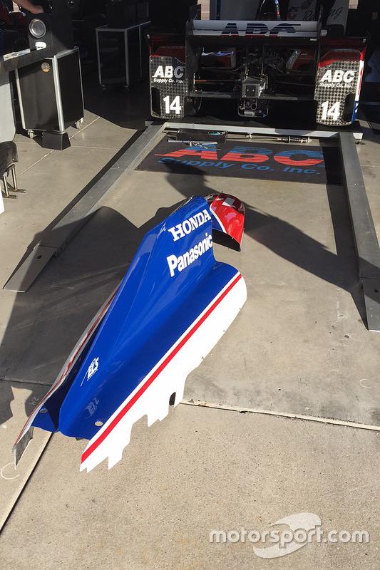 Honda aerodynamische onderdelen
