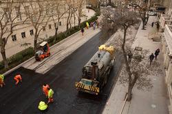 Nueva superficie de asfalto