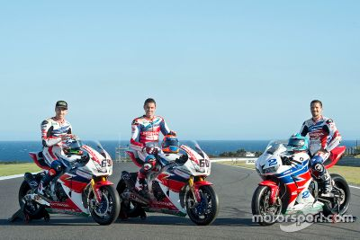 Presentación del equipo Honda