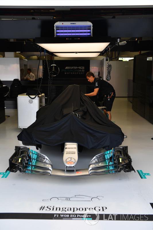 Box: Mercedes AMG F1