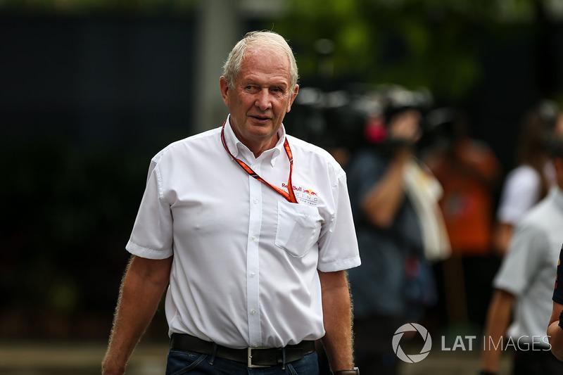 Dr Helmut Marko, consejero de Red Bull Motorsport