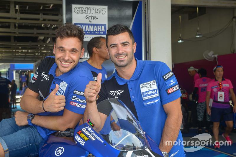 #94 GMT 94 Yamaha: David Checa, Niccolo Canepa, Mike Di Meglio