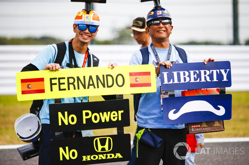 Fans de Fernando Alonso, McLaren, Liberty Media