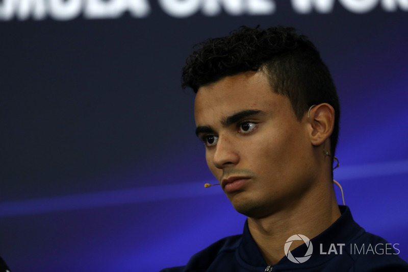Pascal Wehrlein, Sauber in the Press Conference