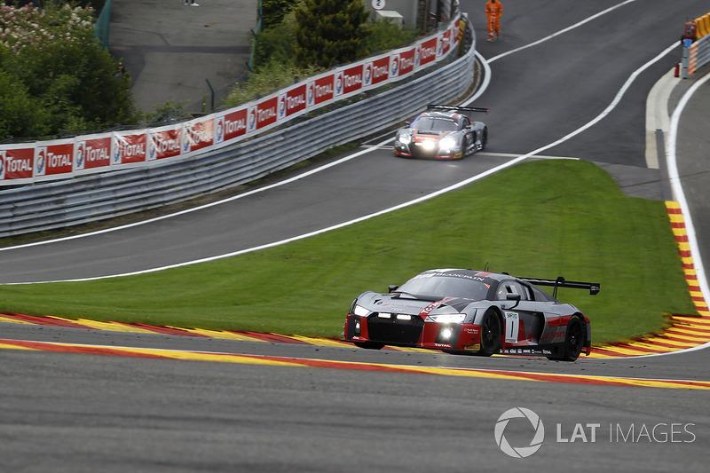 #1 Audi Sport Team WRT Audi R8 LMS: Antonio Garcia, Nico Müller, René Rast