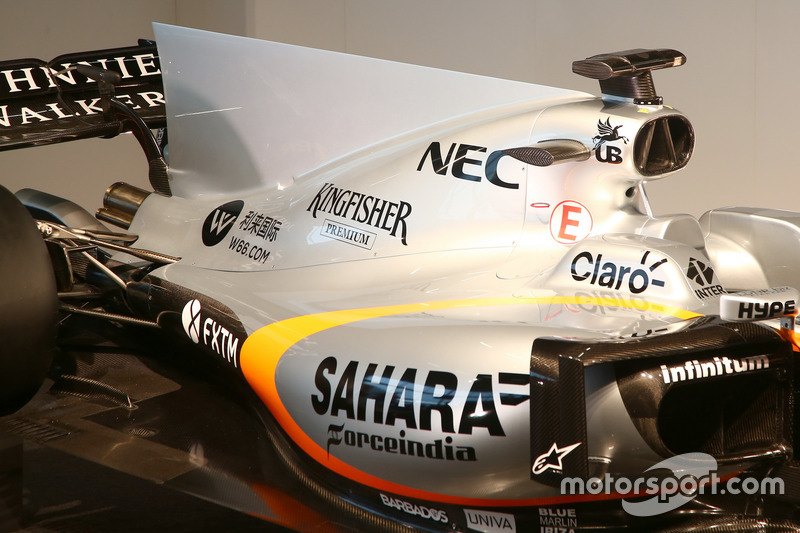 Force India VJM10: Motorhaube