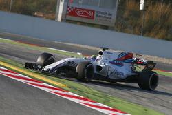 Felipe Massa, Williams FW40 spins