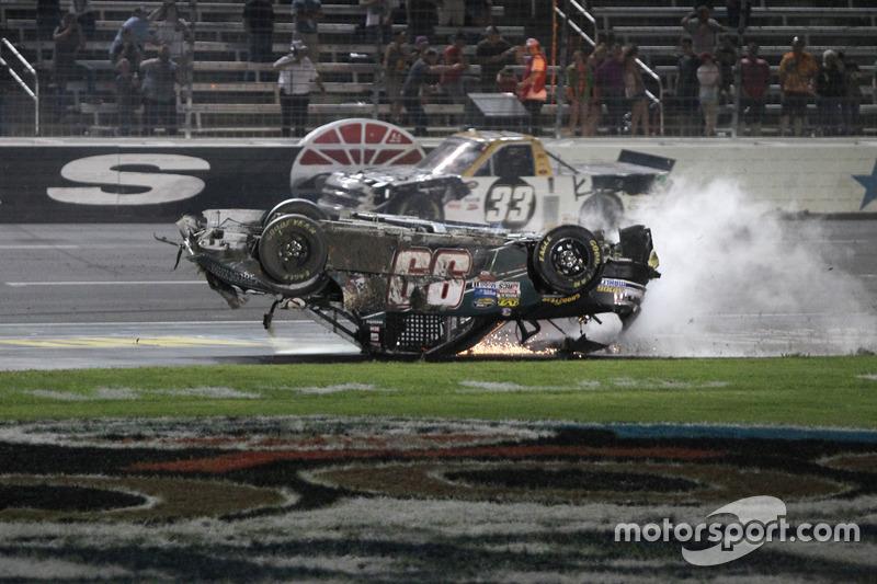 Timothy Peters Chevrolet Silverado Wrecks At Texas